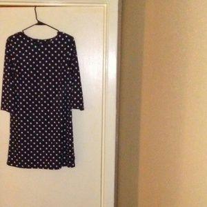 Polka dit dress